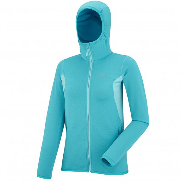 Women MILLET LD TECH STRETCH LIGHT HDDIE Blue Outlet Store