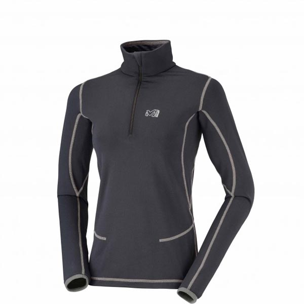 MILLET BLACK WOMEN HIKING FLEECE On Sale