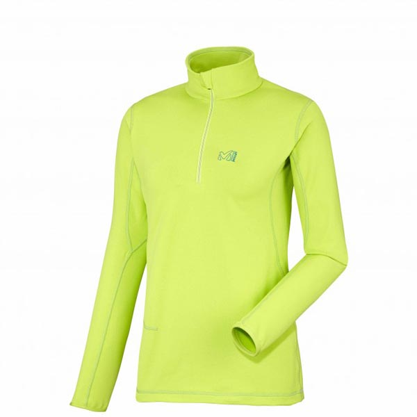 Women MILLET LD TECH STRETCH TOP GREEN Outlet Store