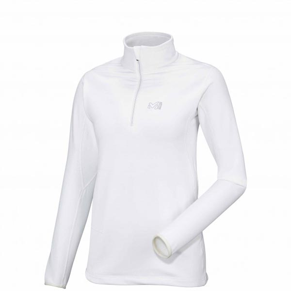 Women MILLET LD TECH STRETCH TOP white Outlet Store