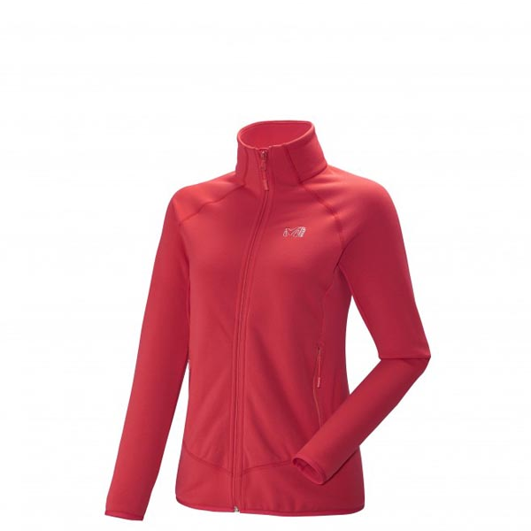 Women MILLET LD CHARMOZ POWER JKT Red Outlet Store