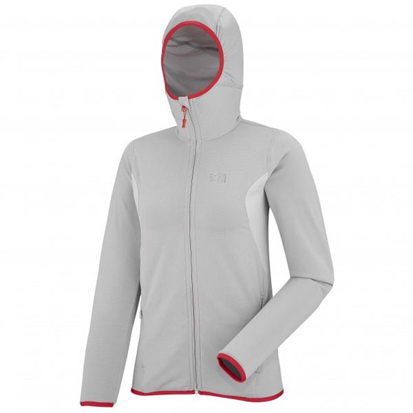 MILLET MOUNTAINEERING - WOMEN'S FLEECE JACKET - GREY On Sale