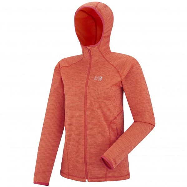 Women MILLET LD TWEEDY MOUNTAIN HOODIE Rose Outlet Store