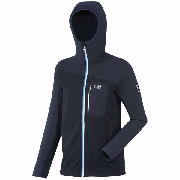 MILLET Blue women mountaineering fleece On Sale