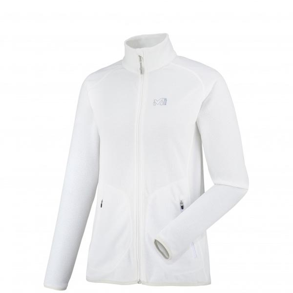 MILLET white hiking fleece jacket for women On Sale