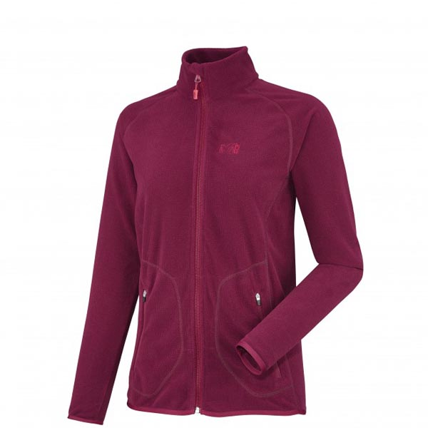 Women MILLET LD KODA GRID JKT red Outlet Store