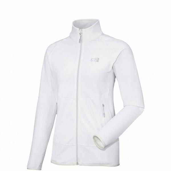 Women MILLET LD TECHNOSTRETCH JKT white Outlet Store