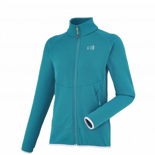 Women MILLET LD TECHNO STRETCH JKT Blue Outlet Store