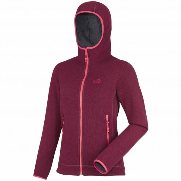 Cheap MILLET LD ICELAND HOODIE Women RED Online