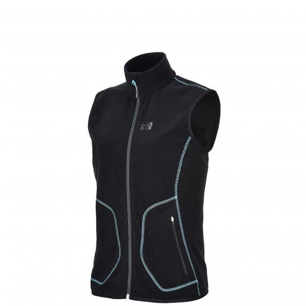 Women MILLET LD KODA GRID VEST black Outlet Store