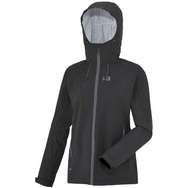 MILLET BLACK HIKING JACKET FOR WOMEN On Sale