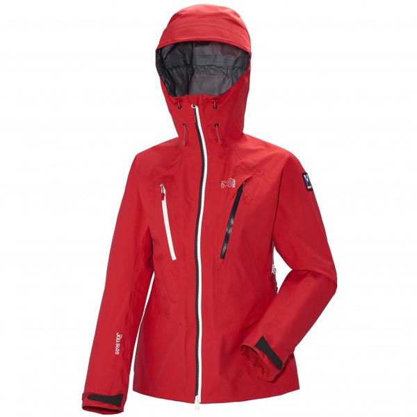 Women MILLET LD TRILOGY V ICON GTX PRO JKT Red Outlet Store