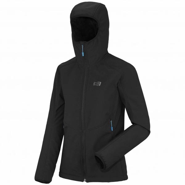 Women MILLET LD SHUKSAN HIGH LOFT HOODIE black Outlet Store