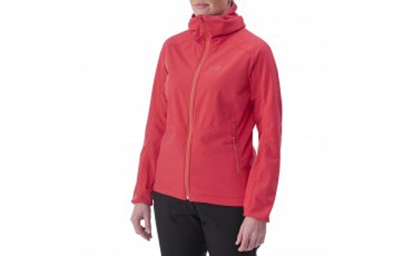 Cheap MILLET LD SHUKSAN HIGH LOFT HOODIE Women Red Online