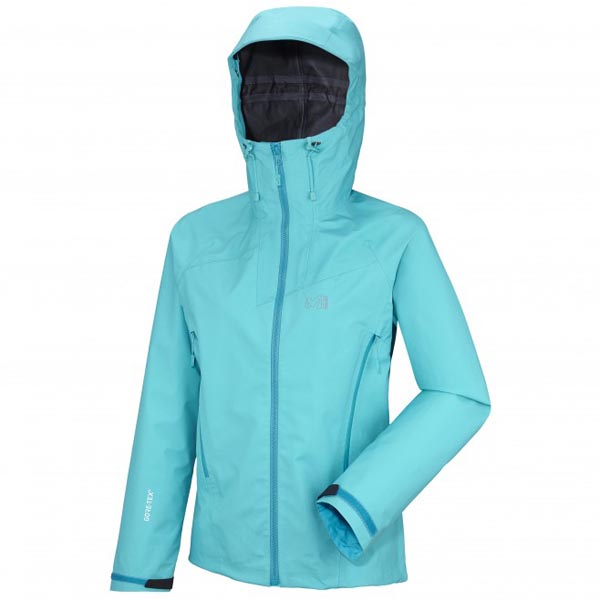 MILLET women\'s turquoise mountaineering jacket On Sale