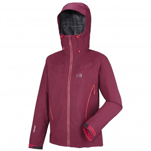 Women MILLET LD KAMET GTX JKT Red Outlet Store