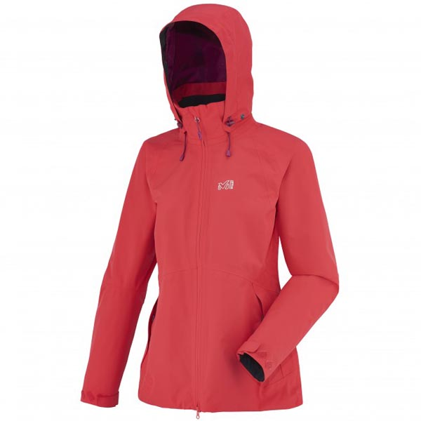 Women MILLET LD MONTETS GTX JKT Red Outlet Store