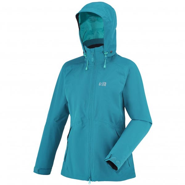 MILLET women\'s turquoise trekking jacket On Sale