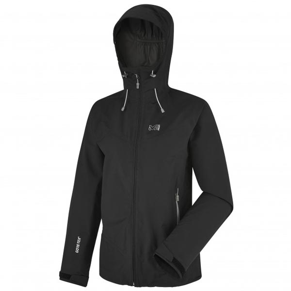 Women MILLET LD GRAYS PEAK GTX JKT Black Outlet Store