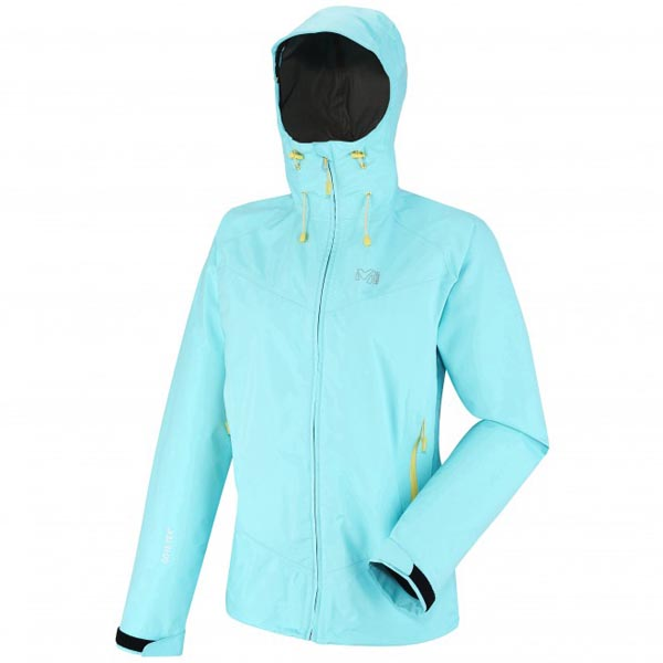 Women MILLET LD GRAYS PEAK GTX JKT Blue Outlet Store