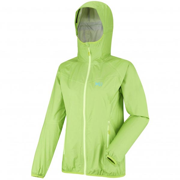 Women MILLET LD LTK RUSH 2,5LS JKT Green Outlet Store