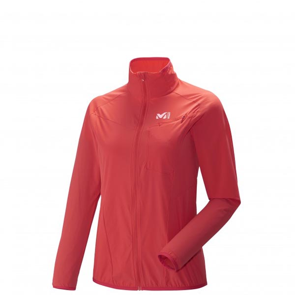 MILLET trail running - Women\'s Jacket - Red On Sale