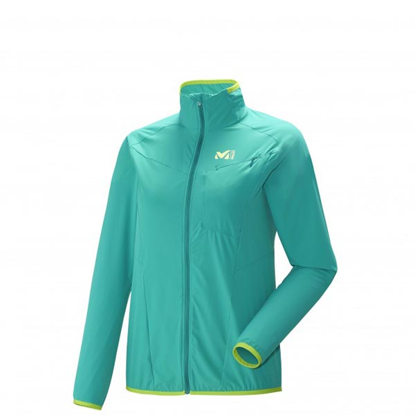 MILLET trail running - Women's Jacket - Green On Sale