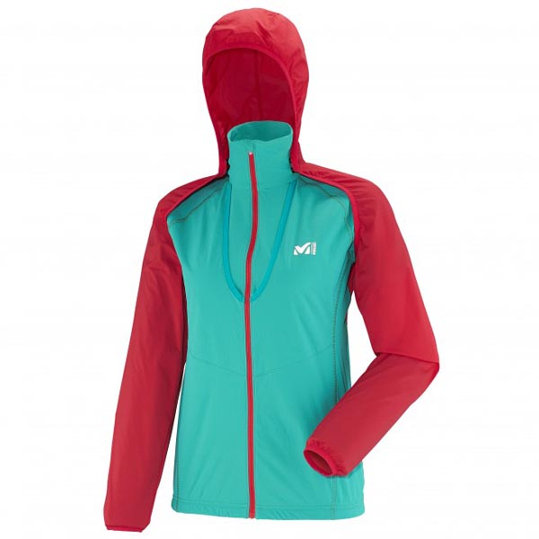 Women MILLET LD LTK INTENSE XCS JKT Green Outlet Store