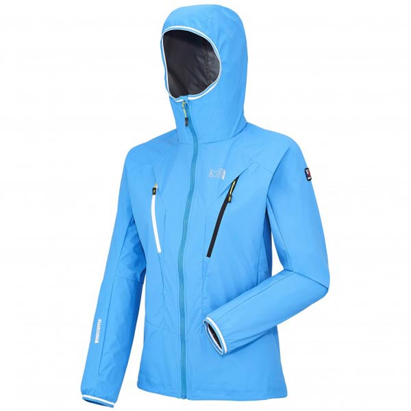 MILLET blue mountaineering jacket for women On Sale