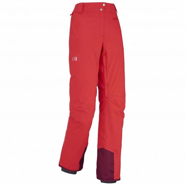 Women MILLET LD BIG WHITE STRETCH PANT red Outlet Store