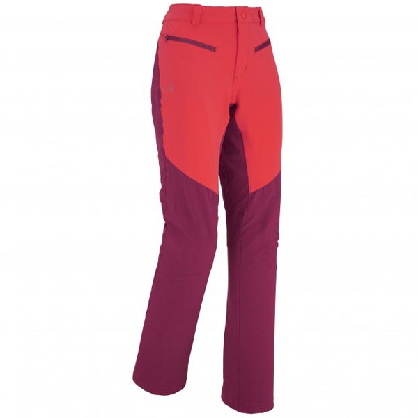 Women MILLET LD DRUS XTREM PANT RED Outlet Store