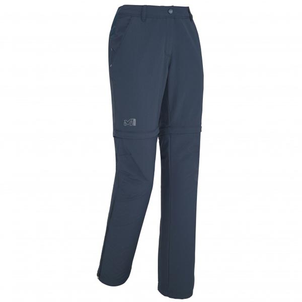 Women MILLET LD MOUNT CLEVELAND ZIP OFF PANT Blue Outlet Store