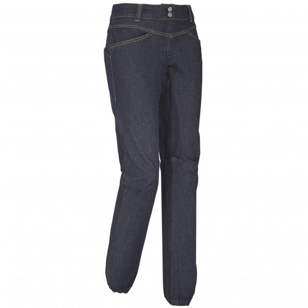 Women MILLET LD KARAMBONY DENIM PANT Blue Outlet Store