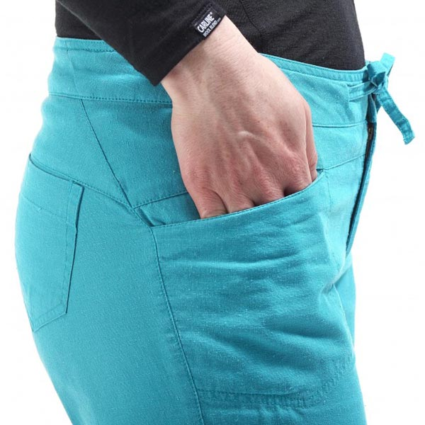 Women MILLET LD ROCK HEMP PANT Turquoise Outlet Store
