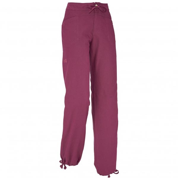Women MILLET LD ROCK HEMP PANT Red Outlet Store