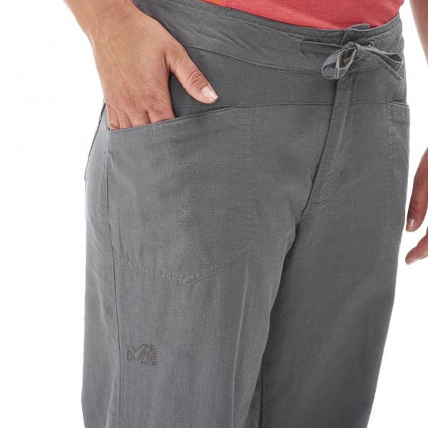 Women MILLET LD ROCK HEMP PANT Grey Outlet Store