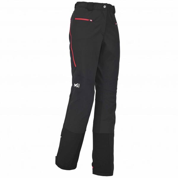 Women MILLET LD TOURING SHIELD PANT BLACK Outlet Store