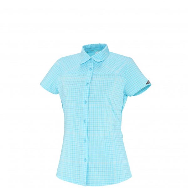 Women MILLET LD CASTLE PEAK SS SHIRT BLUE Outlet Store