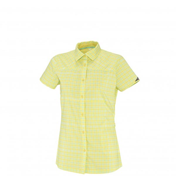 Women MILLET LD CASTLE PEAK SS SHIRT Yellow Outlet Store