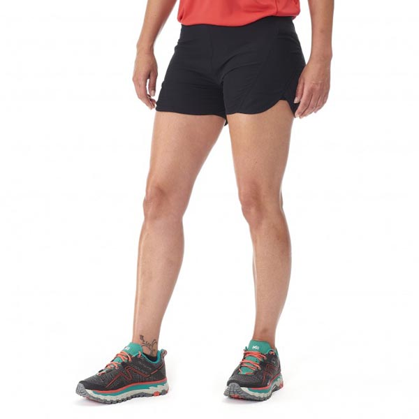 Women MILLET LD LTK INTENSE SHORT Black Outlet Store