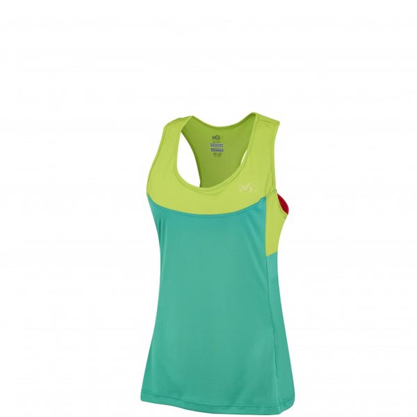 MILLET trail running - Women's T-shirt - Turquoise On Sale