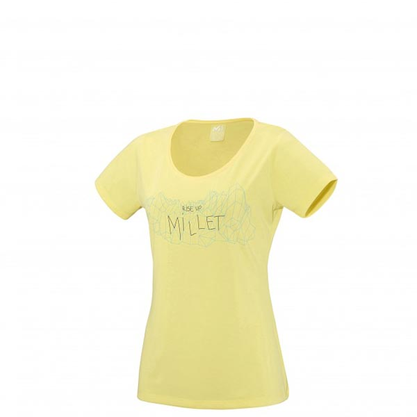 MILLET Trekking - Women's T-shirt - Yellow On Sale