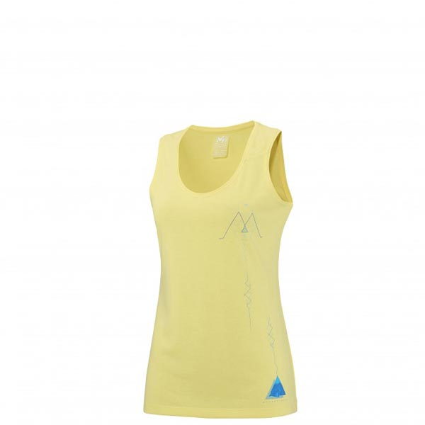 Women MILLET LD BORAH PEAK TANK YELLOW Outlet Store
