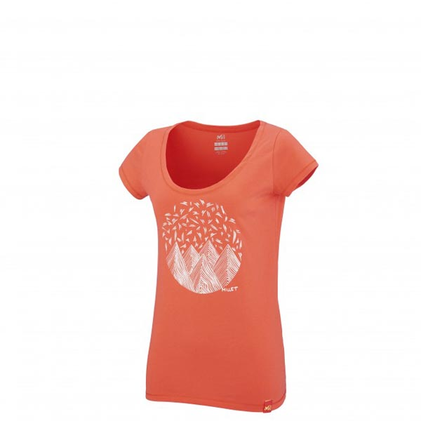 Women MILLET LD CAMP CATTA TS SS Rose Outlet Store