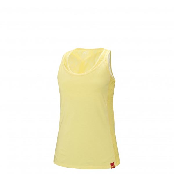 Women MILLET LD STONE TOP Yellow Outlet Store