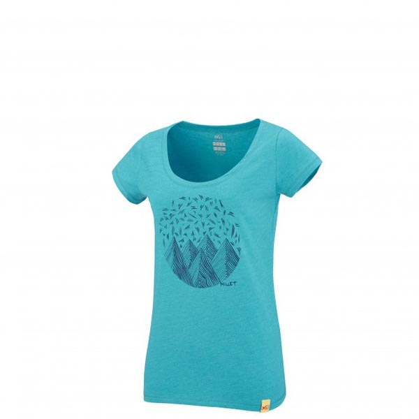 MILLET Women LD CAMP CATTA TS SS Blue Outlet Online