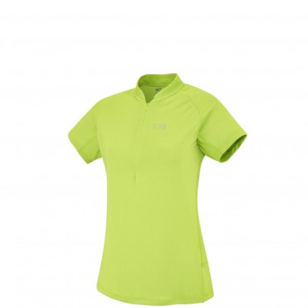 MILLET MOUNTAINEERING - WOMEN\'S T-SHIRT - GREEN On Sale
